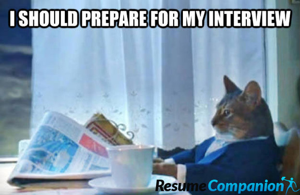how to prepare interview cat