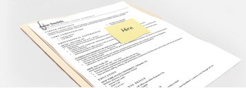 Resume Fonts