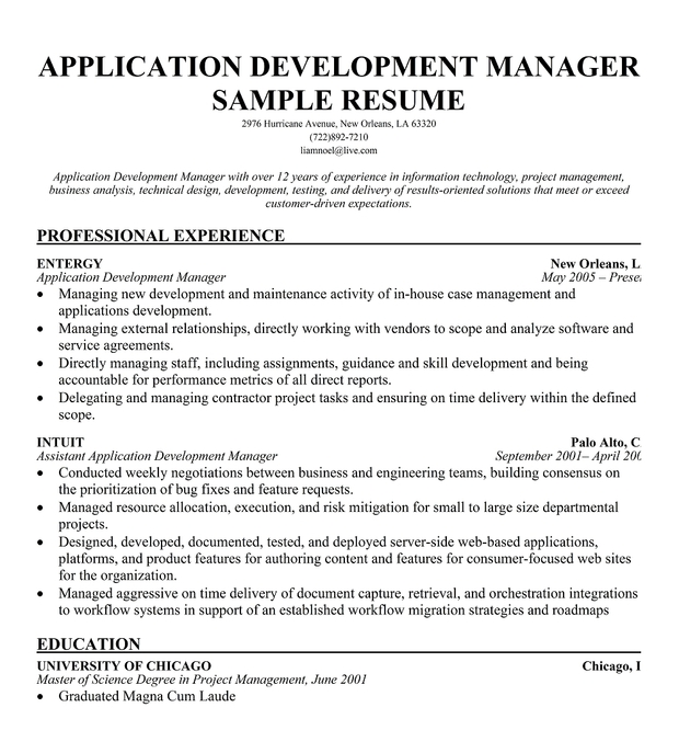 applications manager resume sample birthdayessay