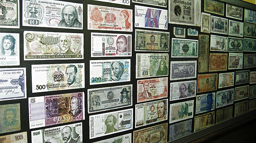 Banking Resume earns you a framed international currency collection