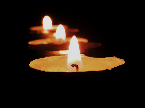 three candles in the darkness for the social worker resume