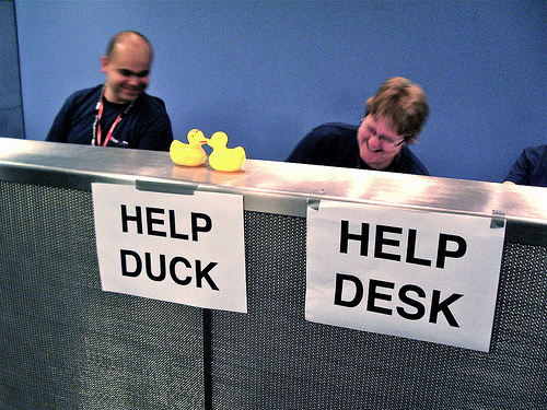 Help desk help ducks