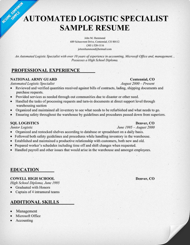 Diesel Mechanic Resume Samples Examples Diesel Mechanic Resume