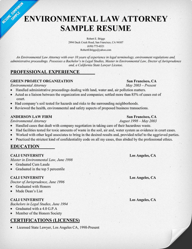 Resume and patent
