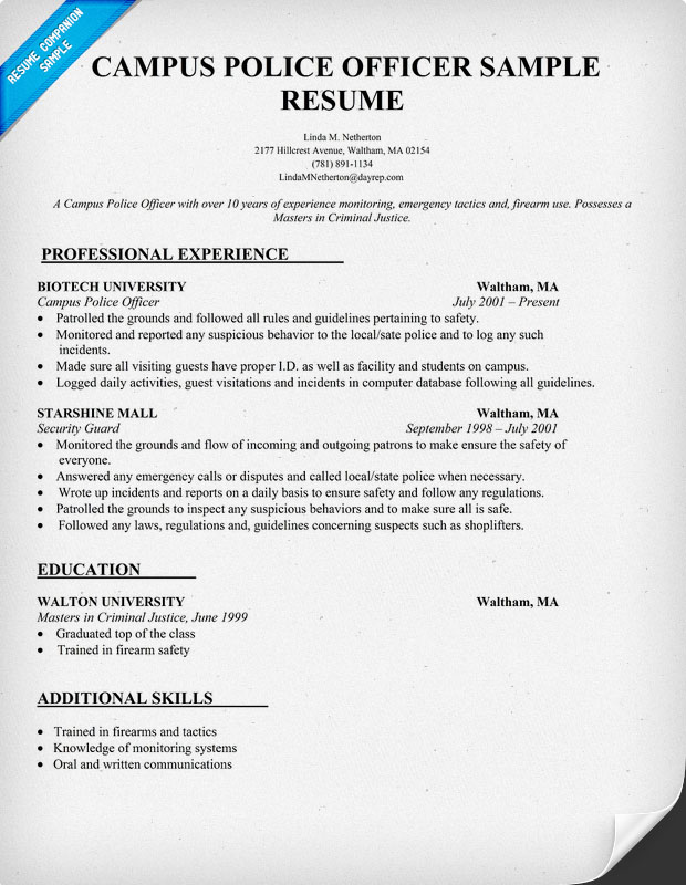 sample resume police officer pin resume for entry level police officer pinterest cover letter sample