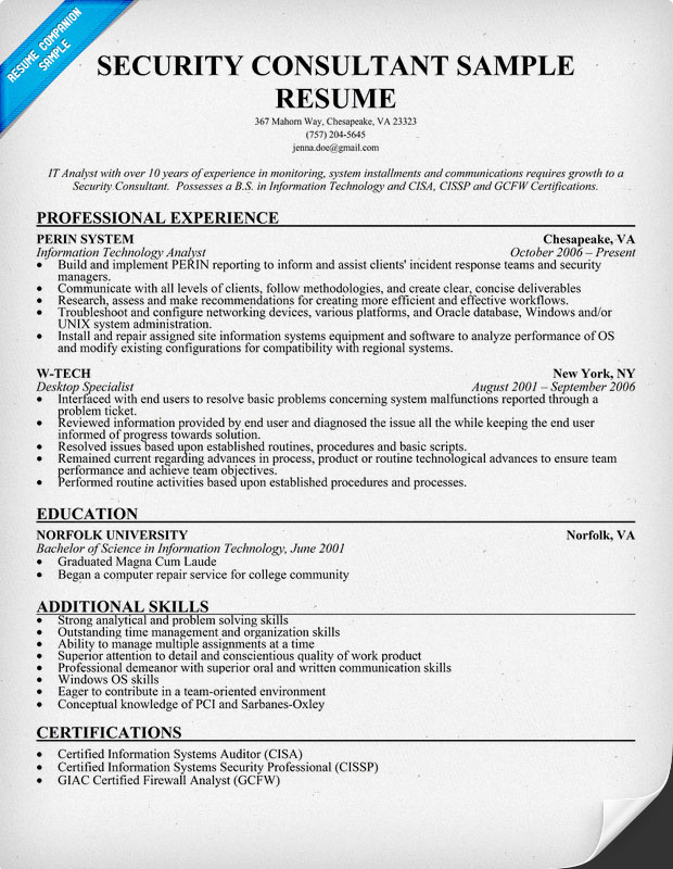 Sap Security Resume | Resume CV Cover Letter