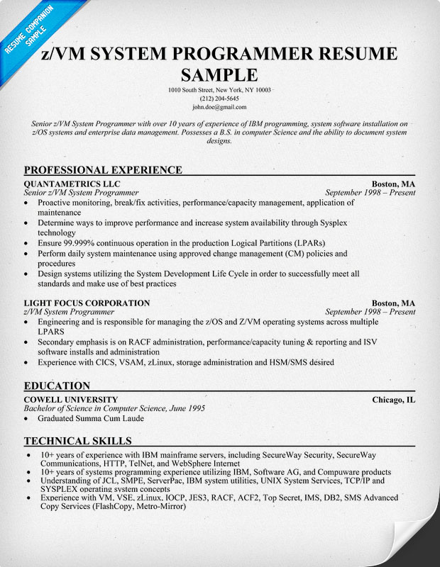 Sample Programmer Resume Top  Data Programmer Resume Samples In