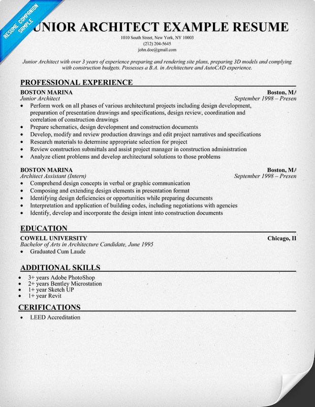 architecture resume architect interrupted 2011 resume architecture