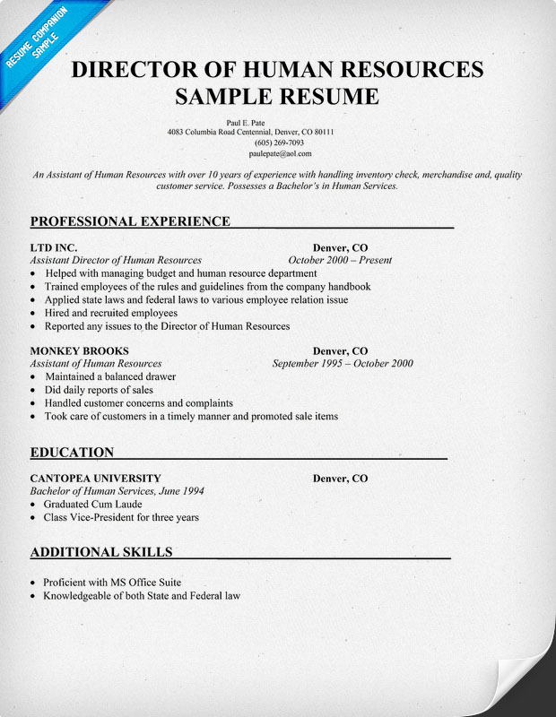 Human Services Resume May 2016 | Kingresume