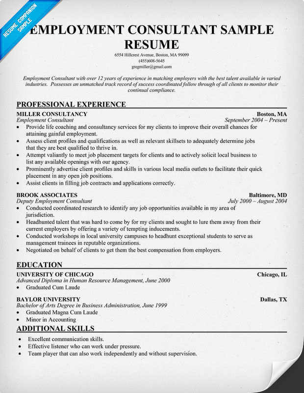 pics photos sample employment resume