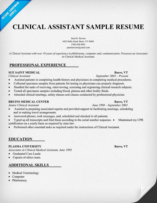 medical assistant resume medical assistant resume sample quotes