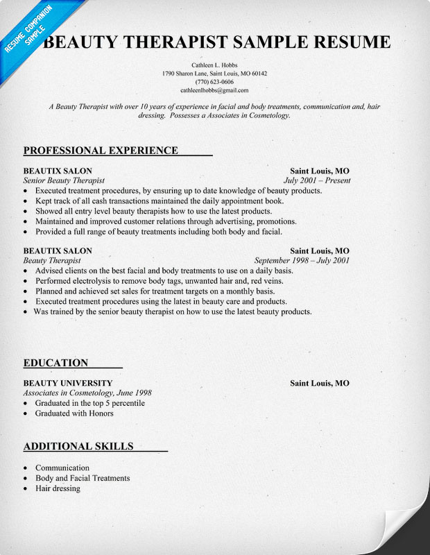 cosmetology resume  seangarrette cobeauty therapist resume sample beauty therapist resume sample   cosmetology resume cosmetology resume objective statement example