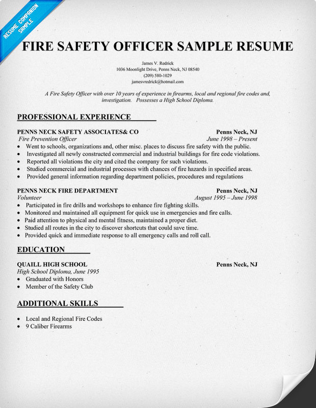 sample safety engineer resume doc pictures
