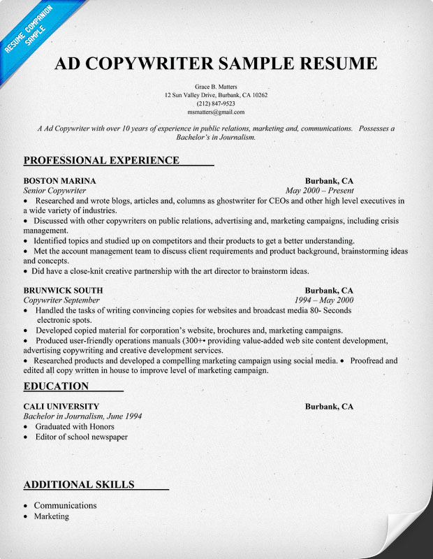 automotive writer resume 2017 2018 best cars reviews