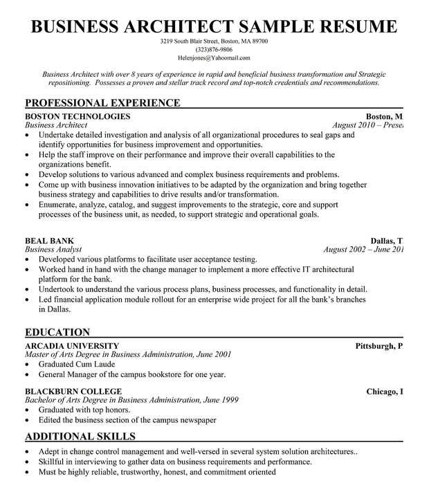Solution Architecture Resume  LondaBritishcollegeCo