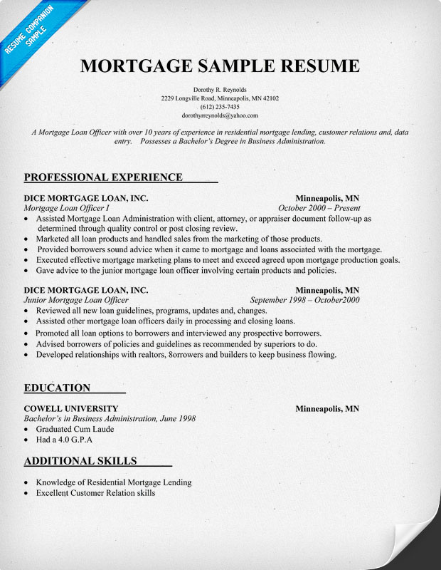 loan officer resume loan officer resume resume