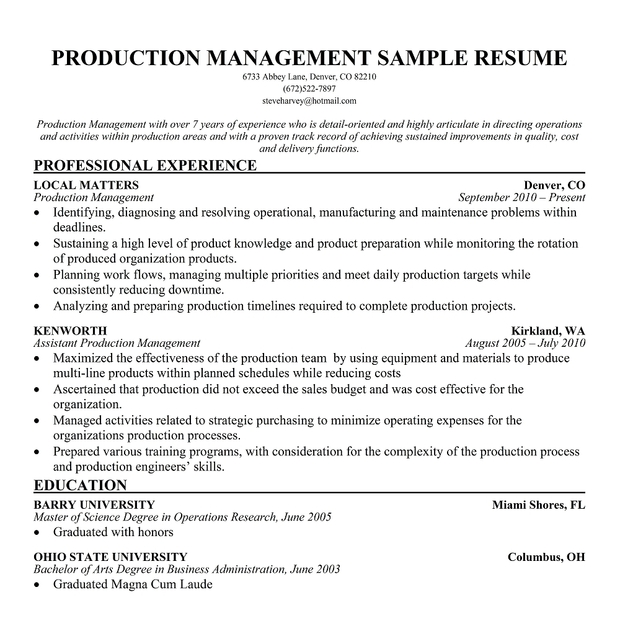 Call Center And Customer Service Call Center Agent Resume Samples Security  Supervisor Duties Resume Production Supervisor  Manufacturing Resume